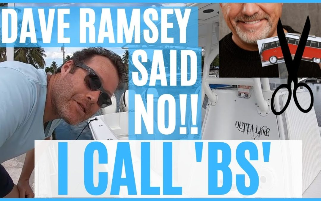I'M CALLING BS ON DAVE RAMSEY'S RV LIVING ADVICE!